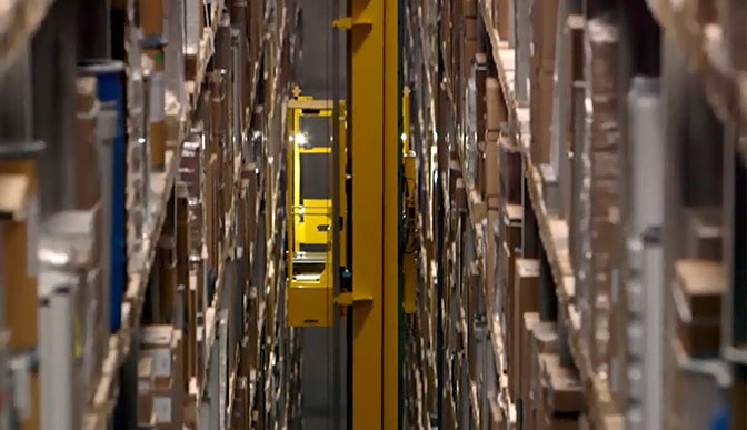 Logistics strategy retrofit high-bay warehouse