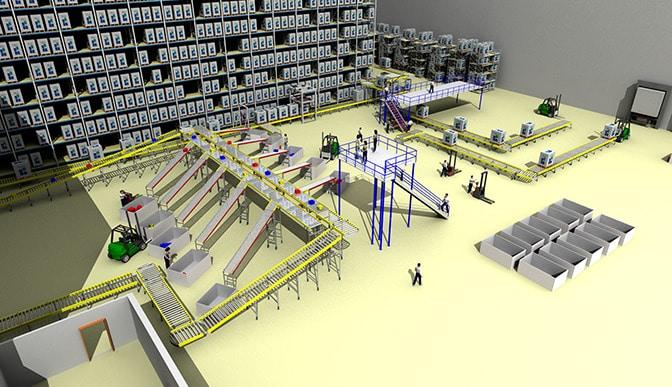 Beratung für Logistik Sortieranlage