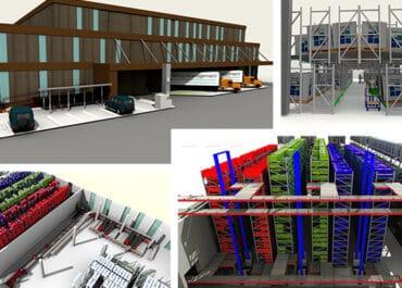 Creation of a logistics concept